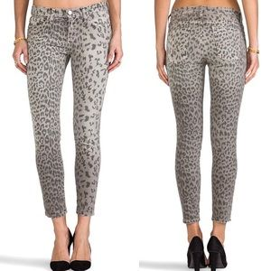 Current/Elliott the stiletto in grey leopard